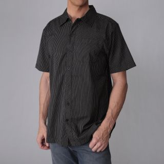 Freeworld Mens Pinstripe Short sleeve Shirt