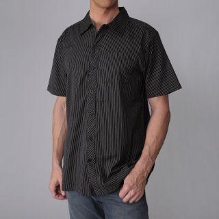 Freeworld Mens Pinstripe Short sleeve Shirt