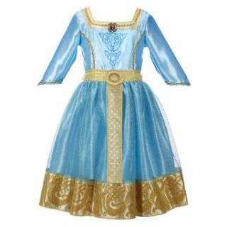 Disney Princess Brave Merida Royal Dress Clothing