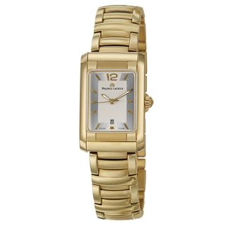 Maurice Lacroix Womens Yellow Gold plated Steel Miros Watch