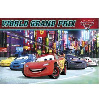 DISNEY CARS 2   Poster World Grand Prix   61 x …   Achat / Vente