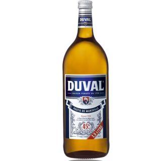 Duval Pastis 1,5L Magnum   Achat / Vente APERITIF ANISE Duval Pastis 1