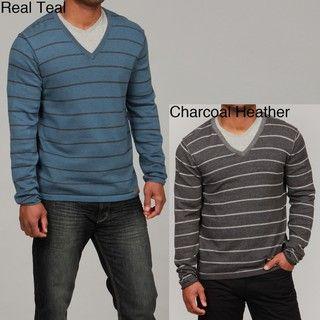 Calvin Klein Jeans Mens Plaited V neck Sweater FINAL SALE