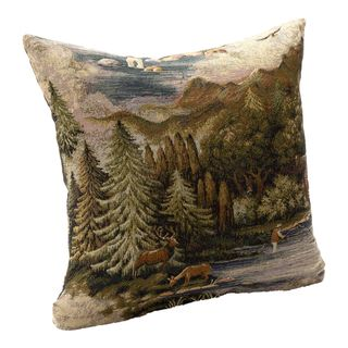 Field and Stream Nature Scene Accent Pillow