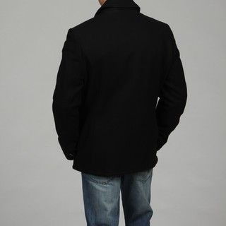 Andrew Marc Mens Double breasted Peacoat FINAL SALE
