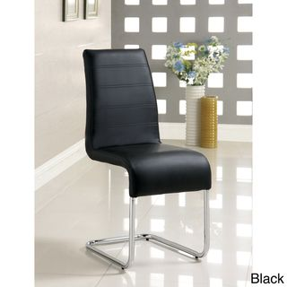 Enitial Lab Alta Leatherette Dining Chairs (Set of 4)