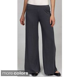 24/7 Comfort Apparel Womens Palazzo Wide leg Pants
