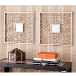 Ardmore Square Decorative Wall Mirror 2pc Set