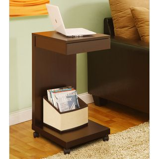 Tempo Red Cocoa Side Table