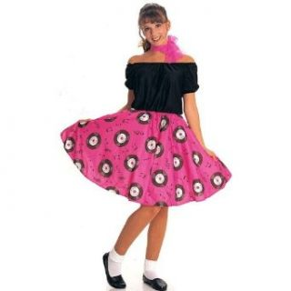 50s Girl Adult Costume Clothing