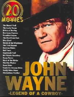 John Wayne   Legend of A Cowboy 20 Movie Set (DVD)