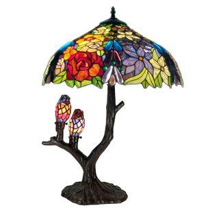 Tiffany style Warehouse of Tiffany Sarah Camille Table Lamp