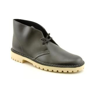 Clarks Originals Mens Desert Trooper Leather Boots