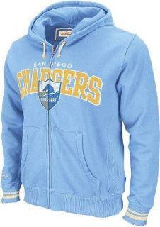 San Diego Chargers Mitchell & Ness Vintage Light Blue Full