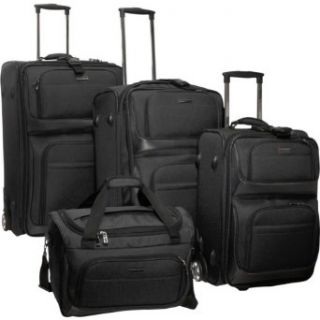 Travelers Choice Luggage Lightweight 4 Piece Luggage Set