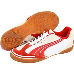 Puma v5.10 Sala White/Puma Red Athletic