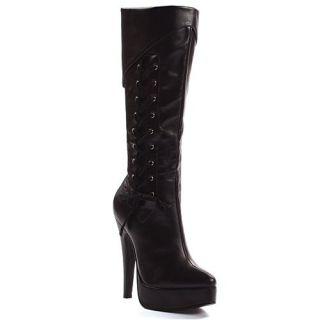 Ellie Shoes Womens 551 SCARLET, 5 Heel Knee High Boot Shoes