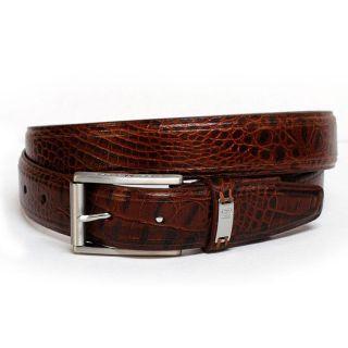 Nike Tiger Woods G flex Italian Croco Leather Belt