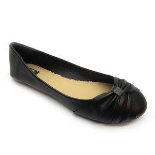Blue Womens Dope Black Wrapped Flats