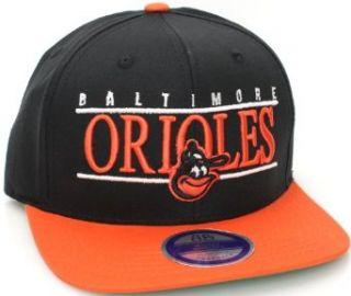 Baltimore Orioles Flat Bill Retro Style Snapback Hat Cap