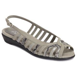 A2 by Aerosoles Womens Charismatic Grey Sandals