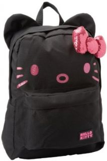 Hello Kitty SANBK0052 Backpack,Black/Pink,One Size