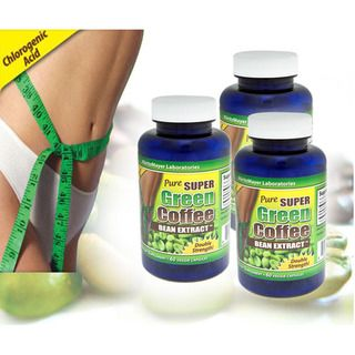 MaritzMayer 800mg Pure Super Green Coffee Bean Extract (120 Capsules