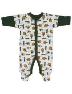 NFL Green Bay Packers Sleep N Play Infant Bodysuit, 6 9