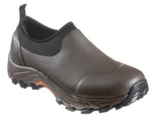 RedHead Westy Waterproof Rubber Boots for Men   Brown Orange Shoes