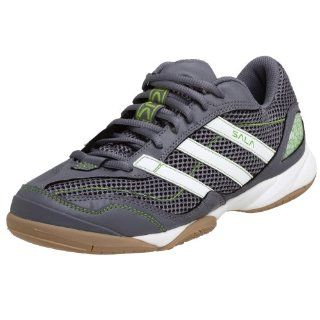 Mens Super Sala VII Soccer Shoe,Indigo Grey/White/Green,9 M Shoes