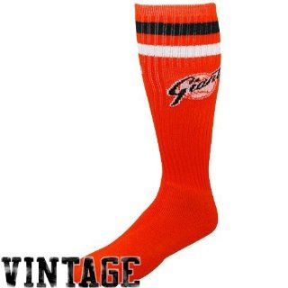 MLB San Francisco Giants Orange Vintage Logo Tube Socks
