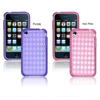 Premium Apple iPhone 3G/3GS Checker Crystal Case