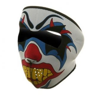 Neoprene Full Face Mask Clown W11S23D Clothing