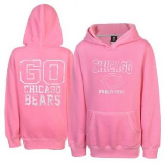 NFL Chicago Bears Youth Girls Pop Over Shawl Neck Pullover