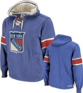 New York Rangers Team Classic Pullover Lace Hooded