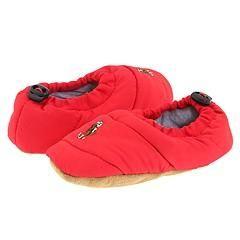Polo Ralph Lauren Kids Puffer (Infant/Toddler) Red Slippers