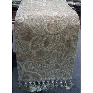 Corona Paisley Print Table Runner (12 x 70)