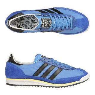 ADIDAS Baskets SL 72 Homme Bleu royal, noir et jaune   Achat / Vente
