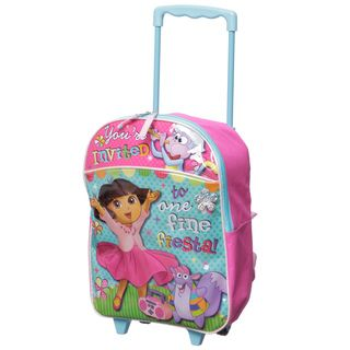 Nickelodeon Dora 16 inch Kids Rolling Backpack