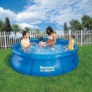 Piscine Bestway Fast Set Pool ronde 2,44 x 0,66m   Achat / Vente KIT