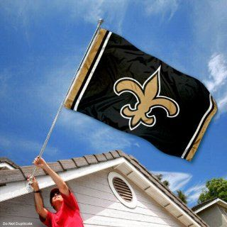 New Orleans Saints Large NFL 3x5 Flag Sports & Outdoors