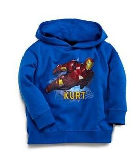 Personalized Iron Man Hoodie   4T Clothing