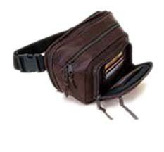 Genuine Leather Gun Concealment Fanny Pack Sports