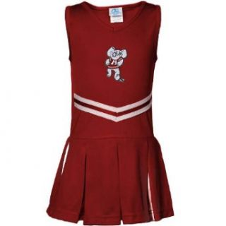 NCAA Alabama Crimson Tide Toddler Girls Crimson