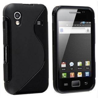 Black TPU Rubber Case for Samsung Galaxy Ace GT S5830