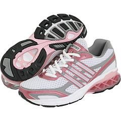 adidas Kids Boost J (Youth) White/Tin/Pink Metallic Athletic