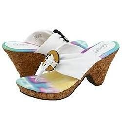 CARLOS by Carlos Santana Martini 2 White Sandals