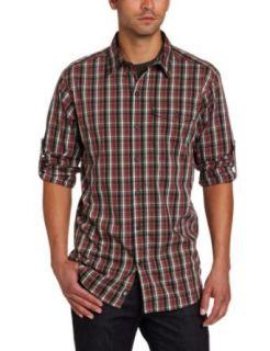 Columbia Mens Utilizer Plaid Long Sleeve Shirt Clothing
