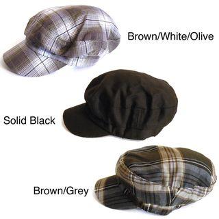 Womens Pug Gear Newsboy Style Hat