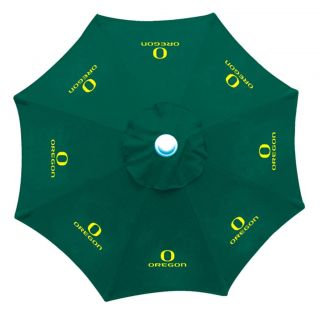 Oregon Ducks 9 foot Patio Umbrella